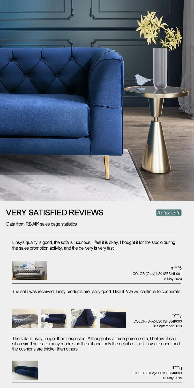 Modern Sofas Furniture Sets Cheap Luxury Velvet Wood Loveseat Sofa Bench