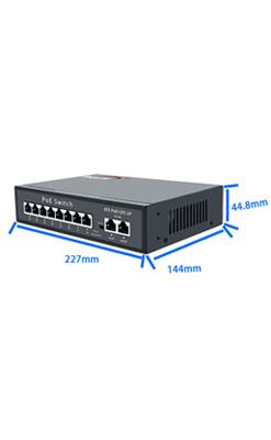 Wanglink Oem 高品質 10/100 Mbps 2 アップリンク Poe スイッチ 8 ポート Poe スイッチ - Buy 10/100/1000 Mbps 8 ポート Poe ...