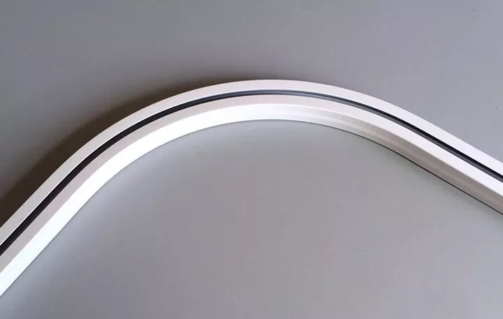 electric curved curtain track automatic curve curtain rail motorized curved curtain rod view motorized curved curtain rod misdar product details