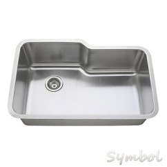 Buy Undermount Kitchen Sink Microwave Cabinet Big Commercial Irregular Shape Single Bowl