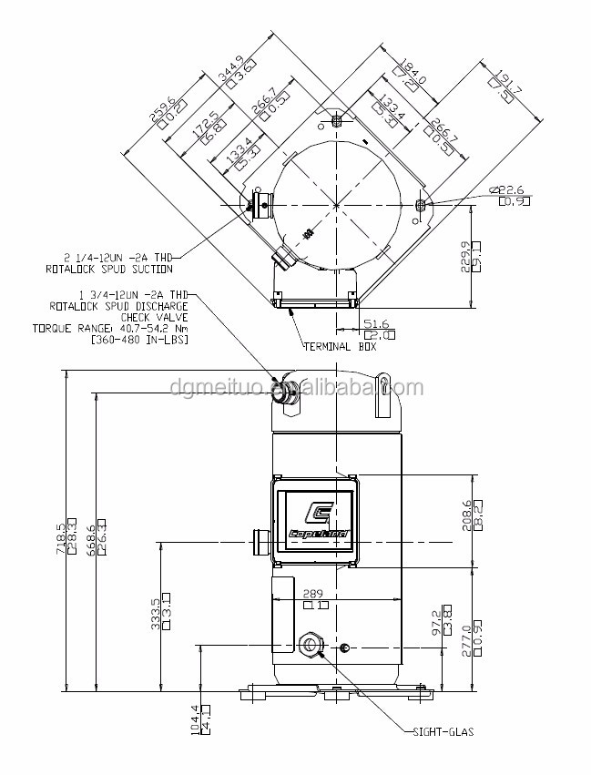 Wholesale Air Conditioner Copeland Scroll Compressor