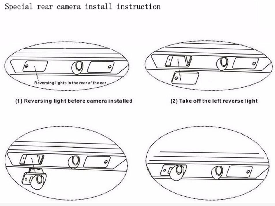 Ccd Car Rear View Camera For Hyundai 2008-2013 Ix35 Tucson