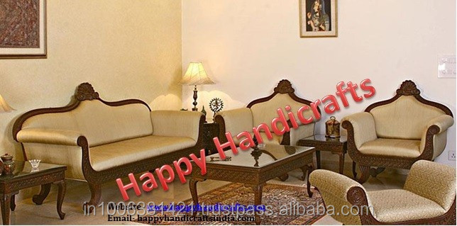 sofa set designs for living room india how to paint your indian wooden maharaja royal buy