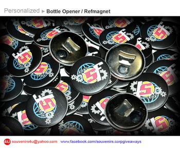 personalized bottle opener refmagnet