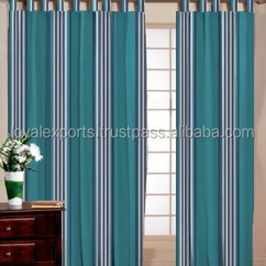 Cafe Kitchen Curtains Menards Countertops Decorated Cotton Striped Air Curtain Children Liked Stripe Window Door