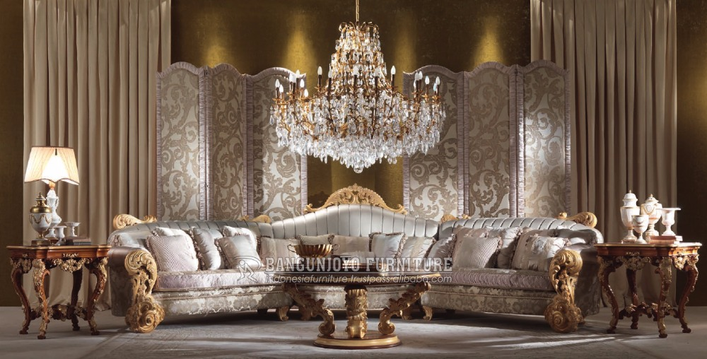 italian style living room furniture black paint ideas gold sofa set buy antique