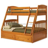 Double Deck Wooden Bed - Buy Wood Double Bed Designs ...