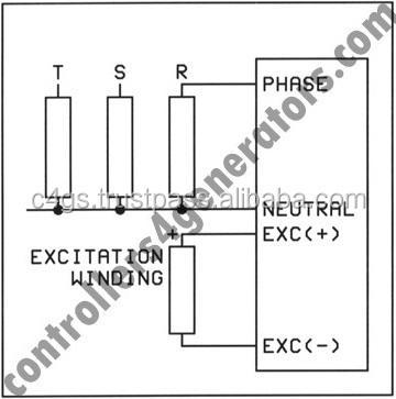 Datakom AVR-20 regulador automático de voltaje para