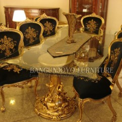 Cheap Living Room Table Sets Pictures Of Beautiful Traditional Rooms French Royal Style Solid Wood Long Dining Set With ...