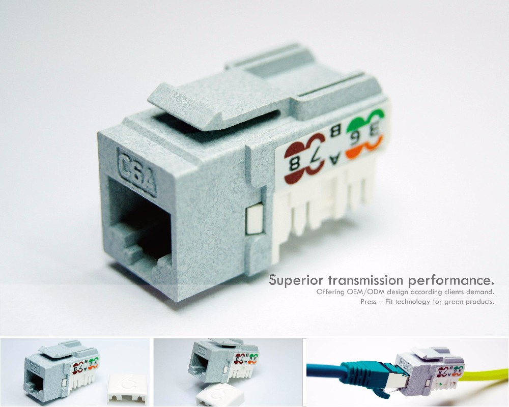 hight resolution of cat5e networking cable connector awg 23 female rj45 connector rj45 keystone jack