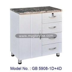White Kitchen Buffet Cheap Trash Can Cabinet Furniture Malaysia With Drawer Pvc Modular Base