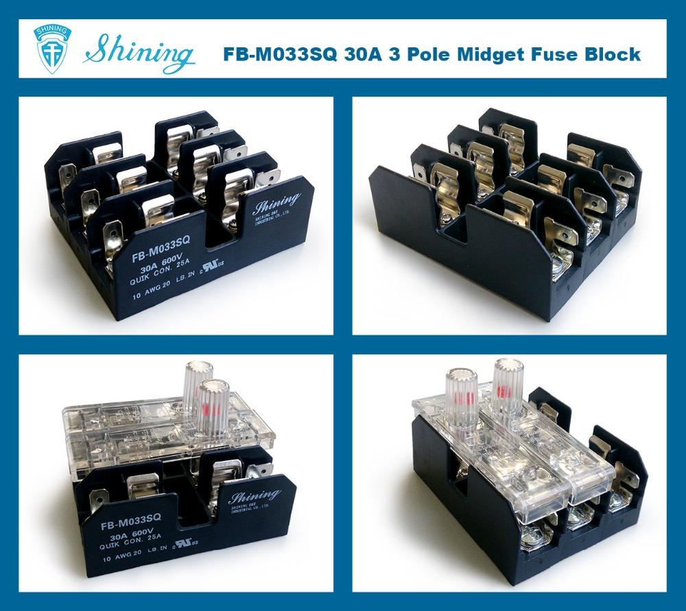 medium resolution of fb m033sq ul approved equal to bussmann 3 pole 30a ceramic fuse box