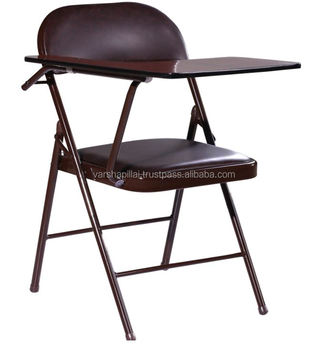 portable study chair dining set with fabric chairs foldable writing pad buy
