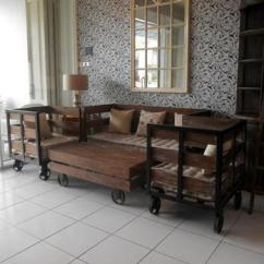 Industrial Style Living Room Furniture Queen Bed In Ideas Wooden Sofa Set French Buy