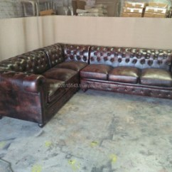 Chesterfield Sectional Sofa Suppliers Grey Velvet For Sale Uk Genuine Leather Buy Latest Design