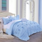 Buy Twin Xl College Dorm Bedding Comforter Set In Variety Of Colors Fits Extra Long Dormitory Mattresses For Campus Students Blanket 66 W X 92 L Sham 20 W X 26 L Unisex In Blue