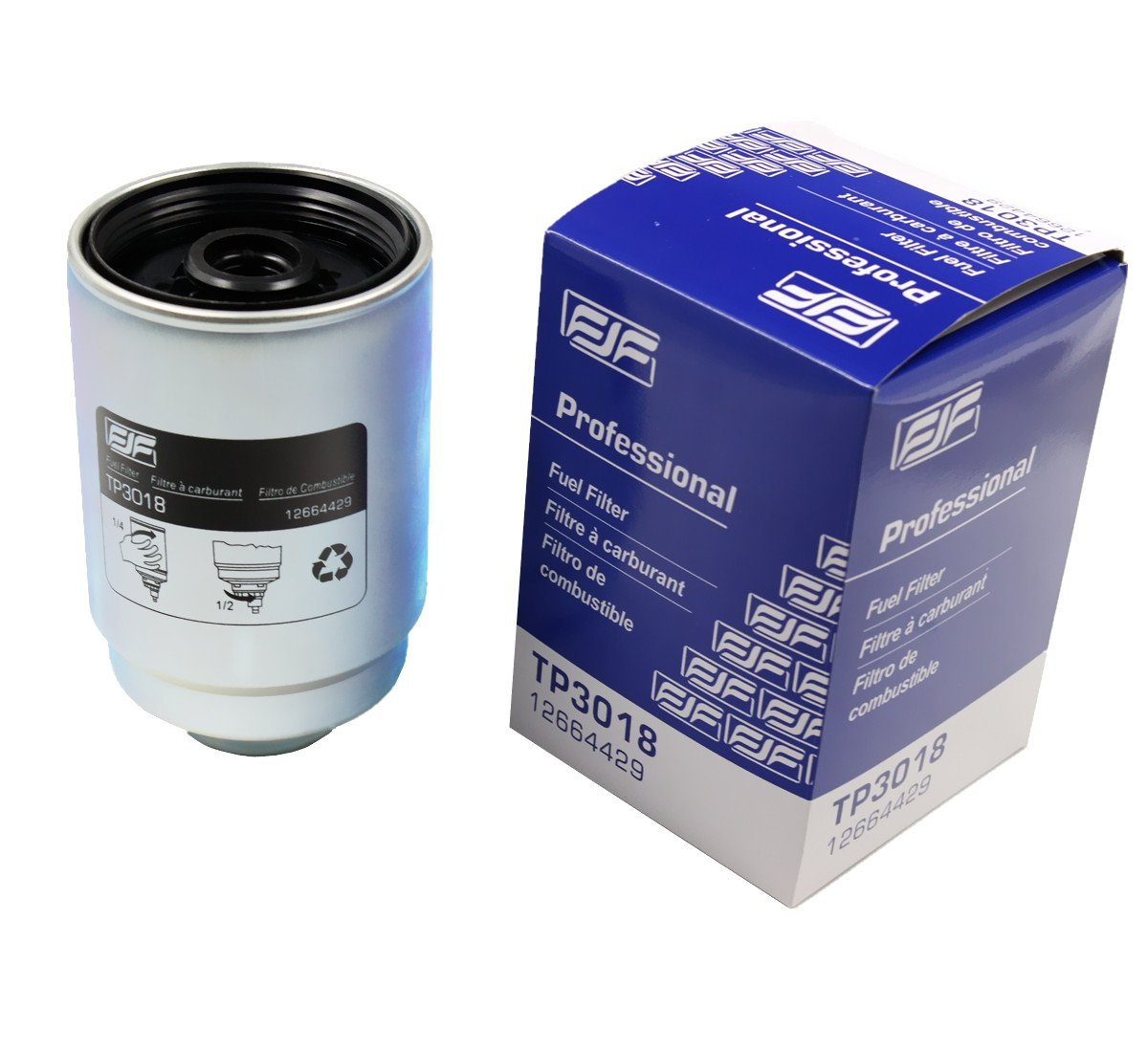 hight resolution of get quotations ifjf tp3018 fuel filter with seals for chevy duramax fuel filter and gmc 6 6l diesel
