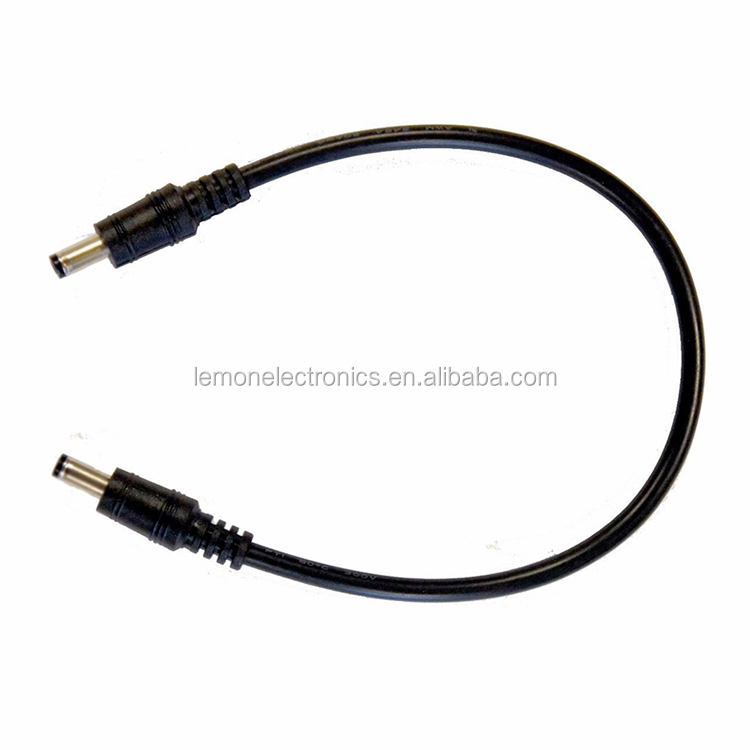 Dc Barrel Power Plug Pigtail Cable 2.1mm X 5.5mm Male