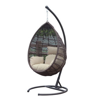 hanging wicker chair for child s desk popular bird nest with round stand buy