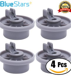 get quotations ultra durable 165314 dishwasher lower rack wheel replacement by blue stars exact fit for bosch [ 2315 x 2315 Pixel ]