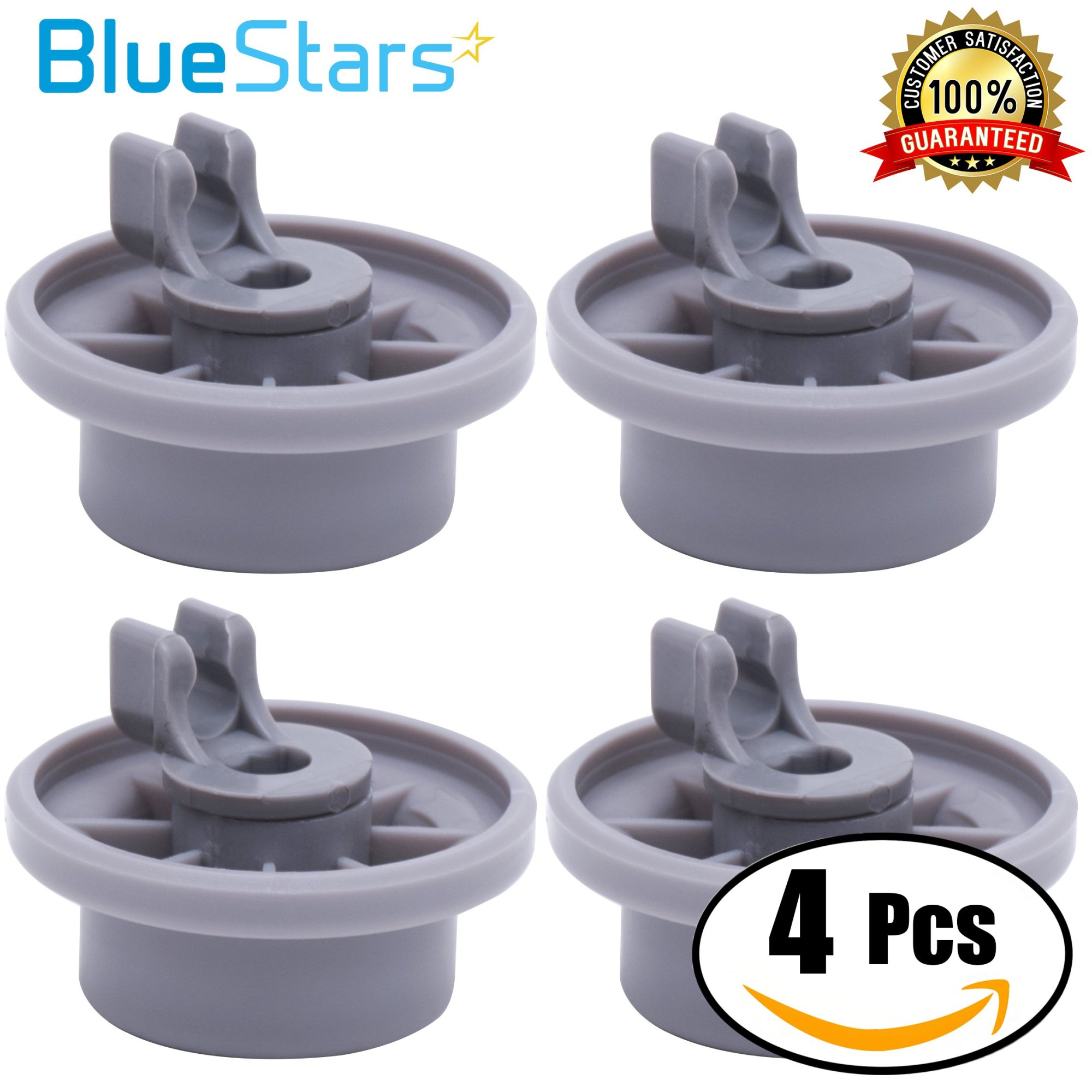 hight resolution of get quotations ultra durable 165314 dishwasher lower rack wheel replacement by blue stars exact fit for bosch