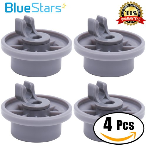small resolution of get quotations ultra durable 165314 dishwasher lower rack wheel replacement by blue stars exact fit for bosch