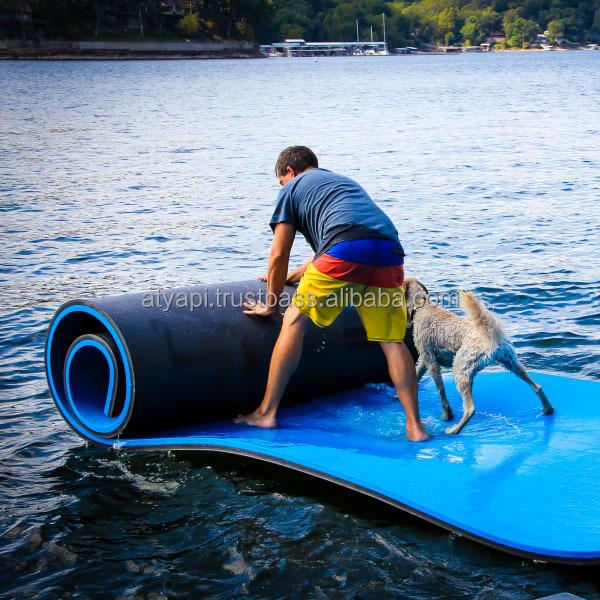 tapis d eau flottante en mousse pour piscine matelas de natation pour lac rafting loisirs et relaxation buy absorbant l eau tampons l eau matelas