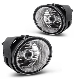 get quotations autosaver88 factory style fog lights for nissan maxima 2000 2001 sentra 2000 2003 frontier 2001 [ 1100 x 1100 Pixel ]