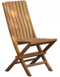 Wood Solid Teak Folding Beach Chair Garden & Patio Outdoor ...