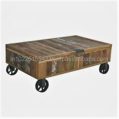 style industriel table basse