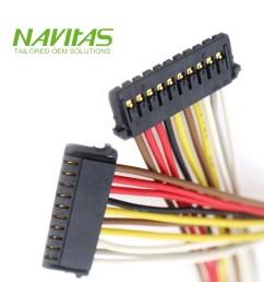 10 pin molex 1 50 mm pitch pico lock crimp housing connector wiring harness [ 1000 x 1000 Pixel ]