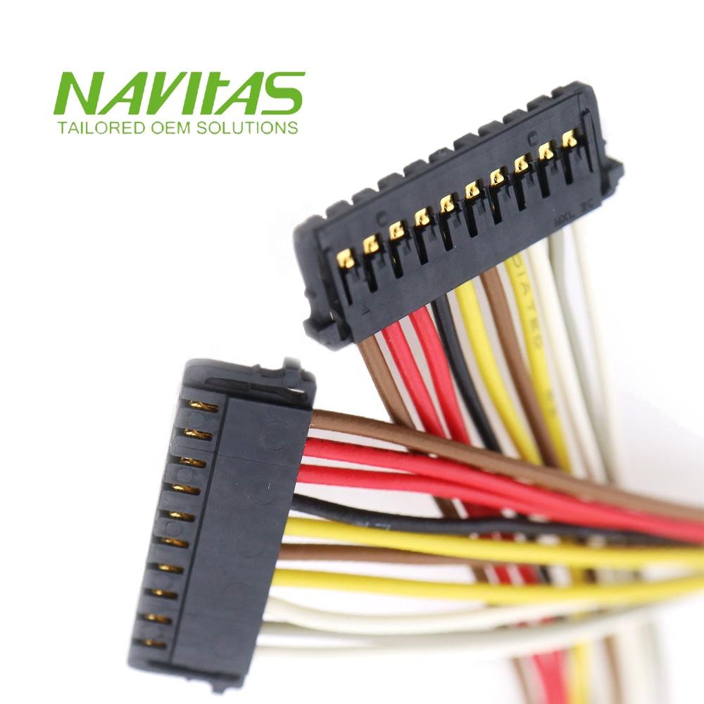 medium resolution of 10 pin molex 1 50 mm pitch pico lock crimp housing connector wiring harness
