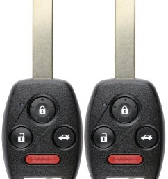 keylessoption keyless entry remote control uncut car ignition key fob replacement for oucg8d 380h a pack of 2  [ 1400 x 2000 Pixel ]