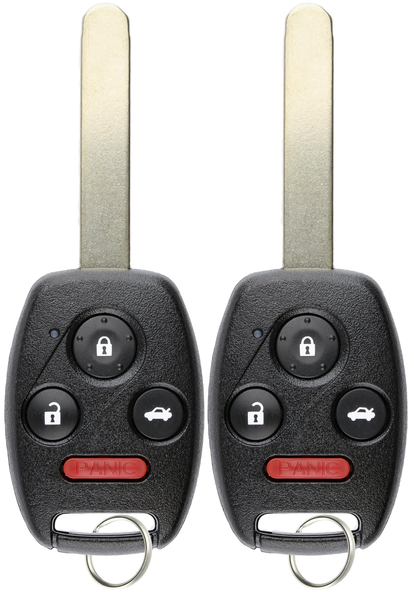 hight resolution of keylessoption keyless entry remote control uncut car ignition key fob replacement for oucg8d 380h a pack of 2