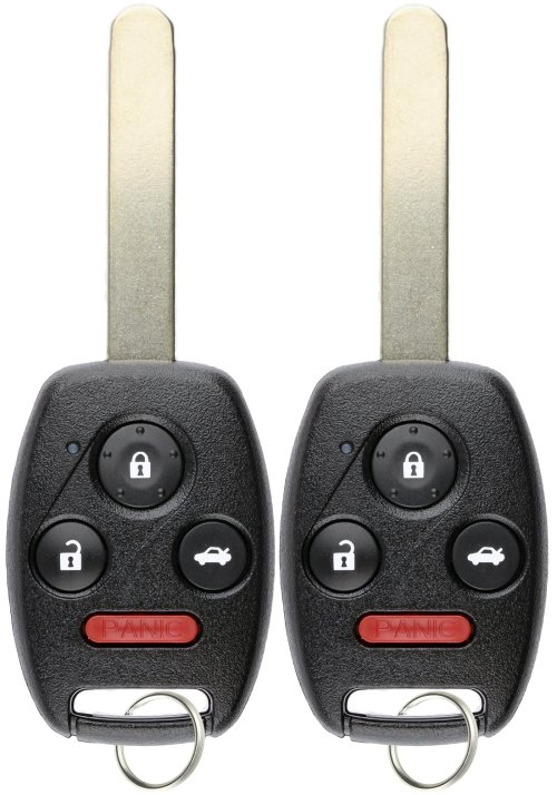 small resolution of keylessoption keyless entry remote control uncut car ignition key fob replacement for oucg8d 380h a pack of 2
