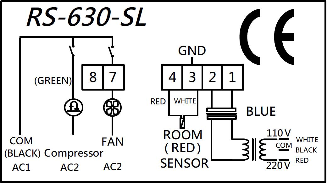Digital Deep Freezer Refrigerator Temperature Controller