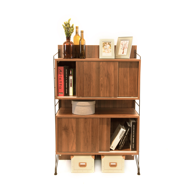 tall storage units for living room grey interior ezbo furniture box cabinet wooden 4 feet