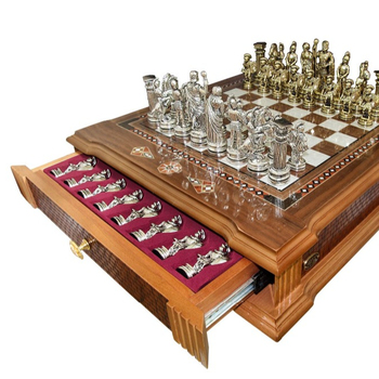 Castle Chess Board With Two Drawers For Figures Buy Wood Chess Board Chess Board Chess Product On Alibaba Com