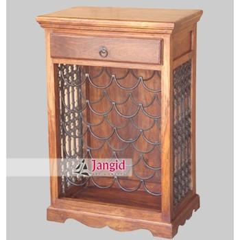 indien moderne en bois sheesham bois mini bar a vin meubles modele