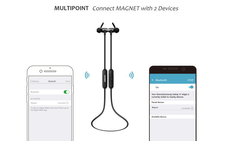 China Factory Direct Sale Wireless Earphone Sport Magnetic