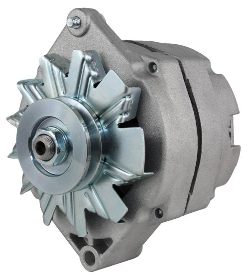 small resolution of get quotations new delco type single 1 one wire self energizing se alternator fits 12 volt 63 amp