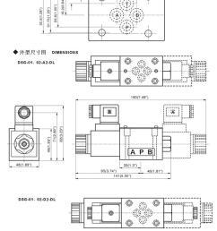 dsg023c6 yuken series hydraulic solenoid coil valve 220v pump parts [ 712 x 3000 Pixel ]