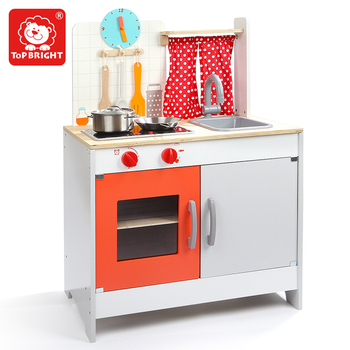 kids wooden kitchen island and table fruit shape playset mini set toy cheap colorful
