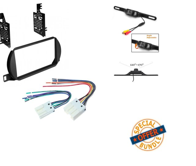 Get Quotations  C2 B7 Nissan Altima  Car Stereo Radio Cd Player Receiver Install Mounting Kit Wire Harness