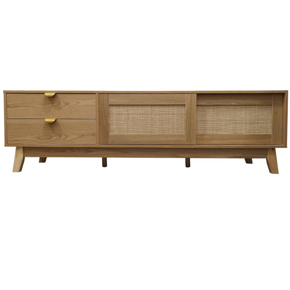 modern home furniture set new design rattan slide door wood wooden tv stand table for living room buy tv table for living room tv table tv stand