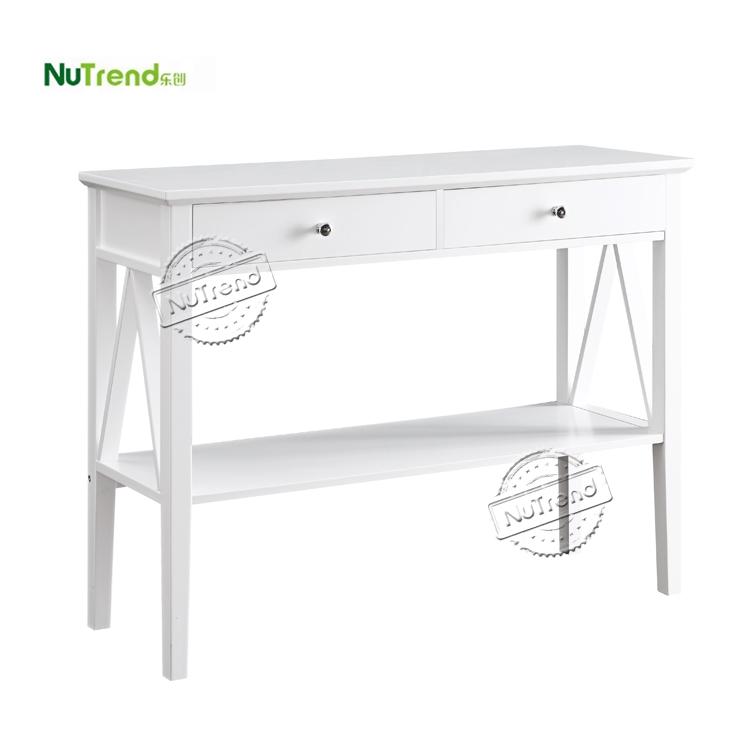 table 1 2 en bois console de couloir avec tiroir table de canape etroite meubles d entree avec etagere de rangement vente en gros buy console en