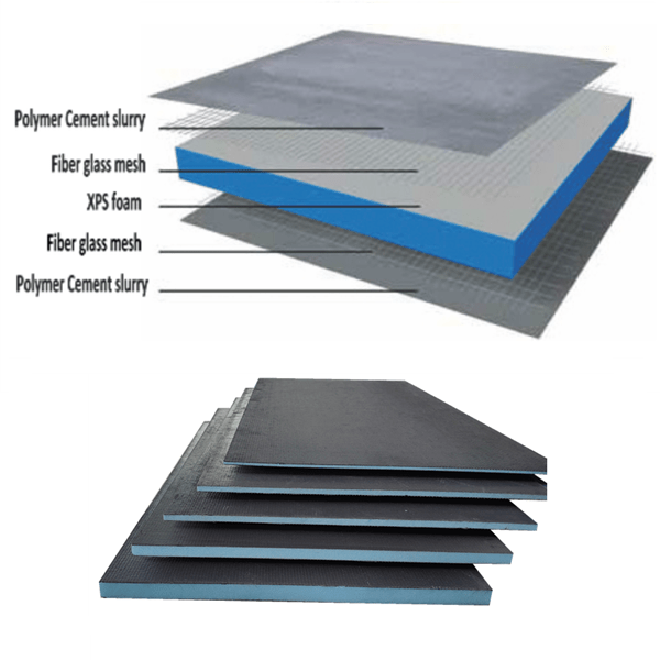 dimensionally stable insulation tile