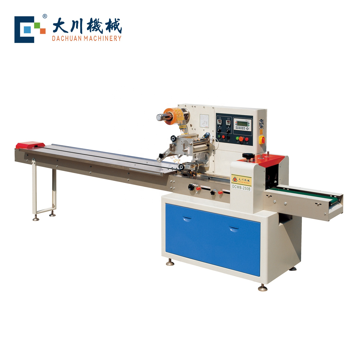 rotary pillow packing machine dcwb 250b d s for biscuit buy packing machine cake packing machine candy packing machine product on alibaba com