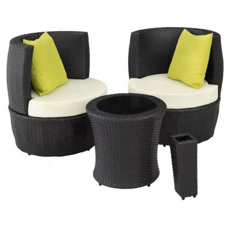 egg rattan set outdoor patio furniture 2 seater bistro chair round lounge table the stylish and modern rattan seating set buy rattan set garden set