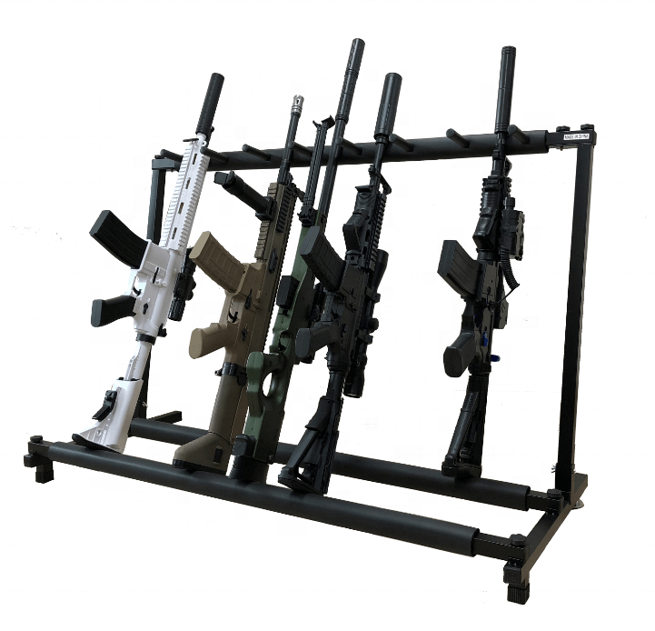 steel gun rifle display stand display rack display cabinet store metal gun rack case buy gun rack rifle stand gun display product on alibaba com